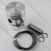 Cylinder, Piston, Rings & Con Rod