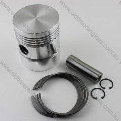 Piston, Rings & Con Rod