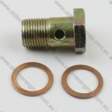 Lister CS 18mm Banjo Fitting Bolt C/W Copper Washers