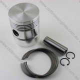 Lister CS Aluminium Piston Set 4.5""