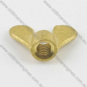 5/16 BSW Brass Wing Nut Suit Lister Oil Filler Flap