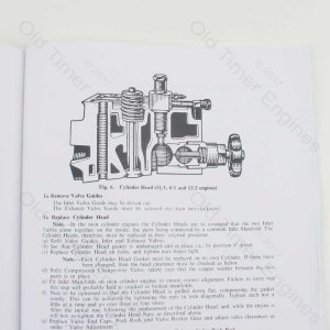 Lister CS Instruction Manual & Parts List (Reprint)