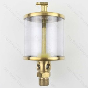 Brass Drip Feed Oiler/Lubricator 1/2 BSP x 320 ML